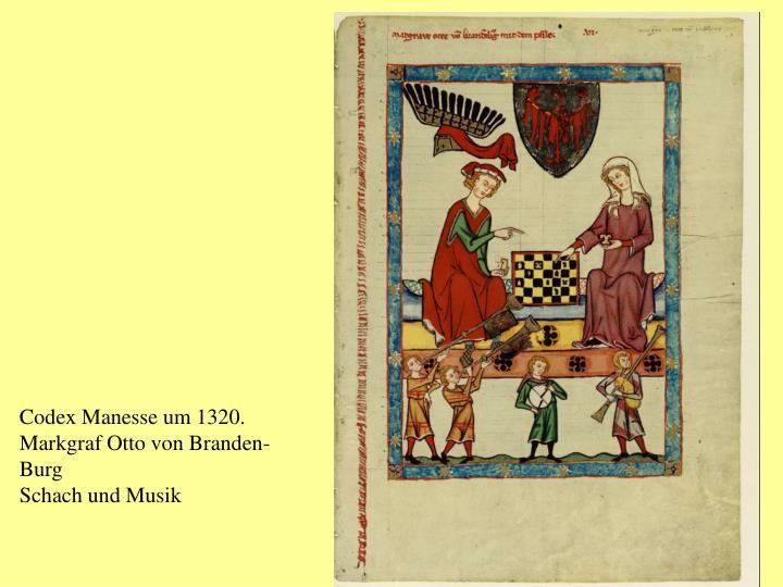 Codex Manesse um 1320.