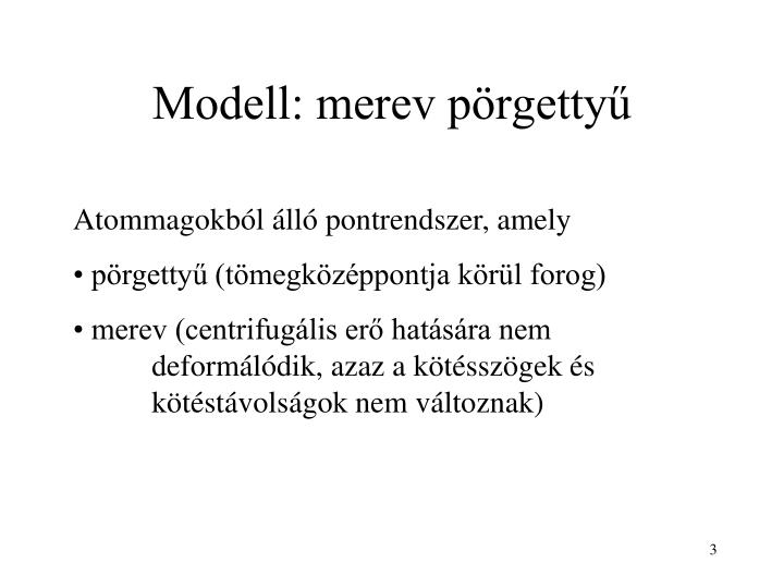Modell merev p rgetty