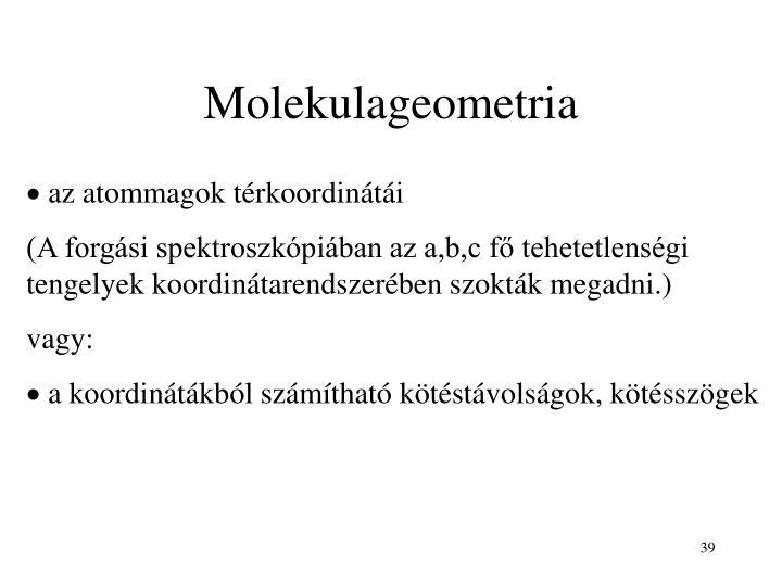 Molekulageometria