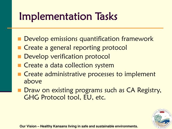 Implementation Tasks