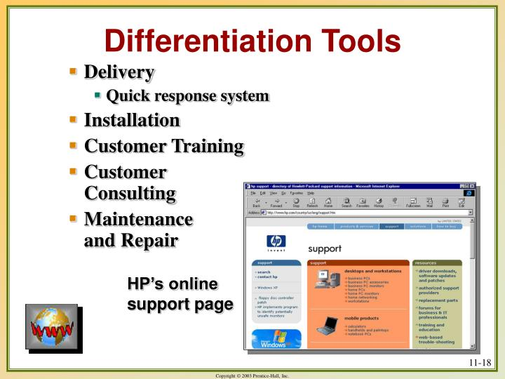 Differentiation Tools
