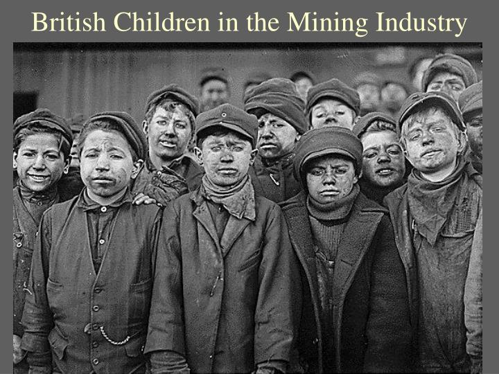 British Children in the Mining Industry