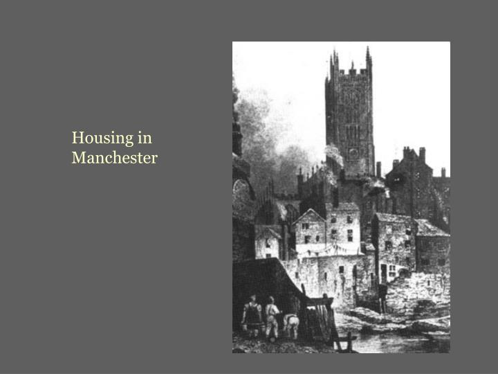 Housing in Manchester