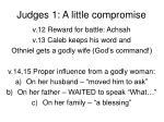 judges 1 a little compromise3