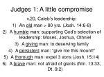judges 1 a little compromise4