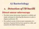 a bacteriology