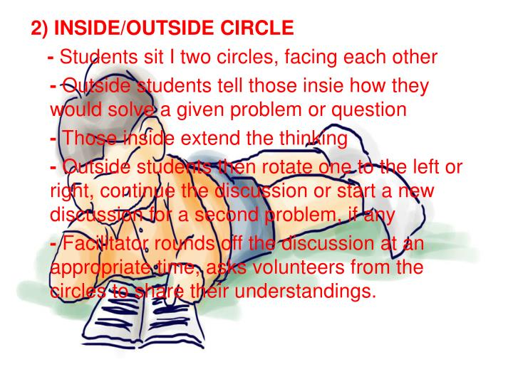 2) INSIDE/OUTSIDE CIRCLE