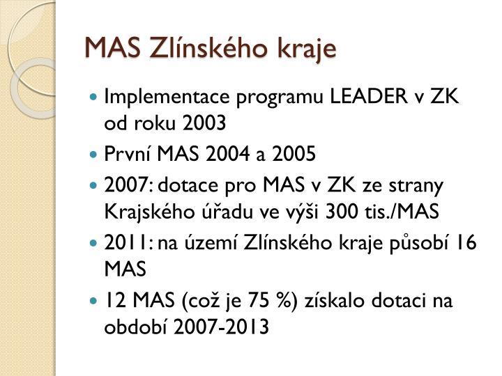 MAS Zlínského kraje