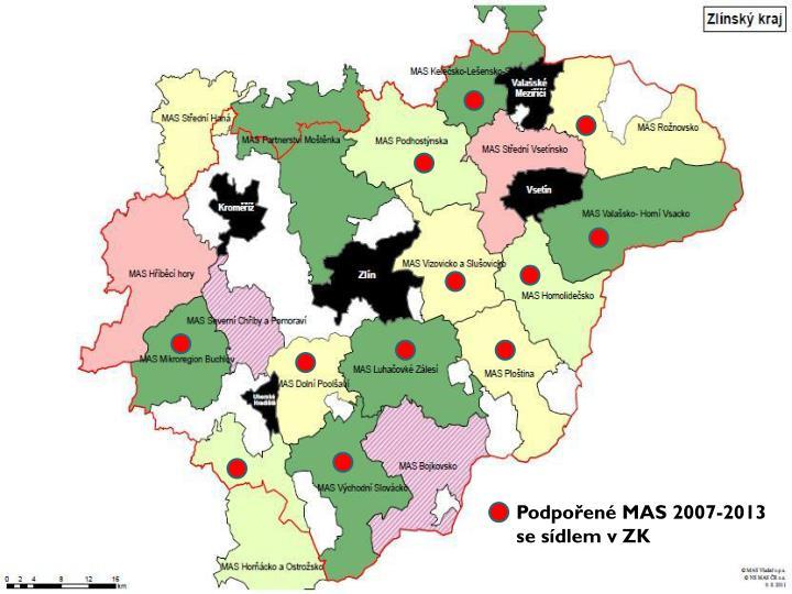 Podpořené MAS 2007-2013