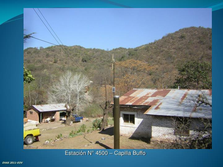 Estación N° 4500 – Capilla