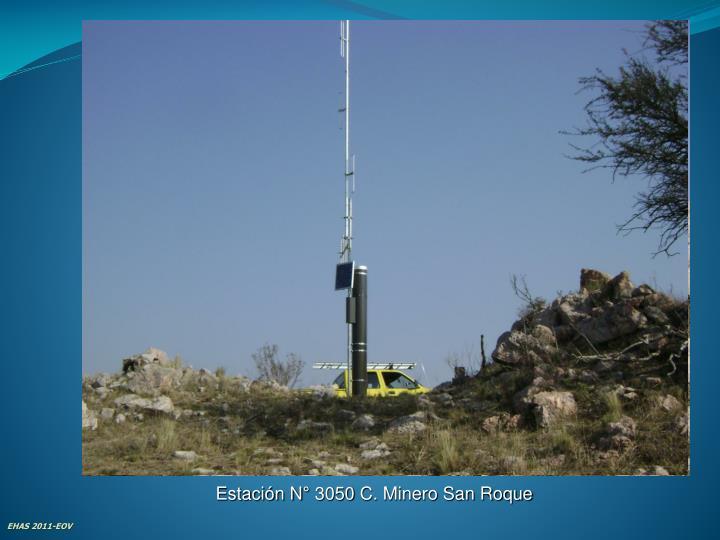 Estación N° 3050 C. Minero San Roque