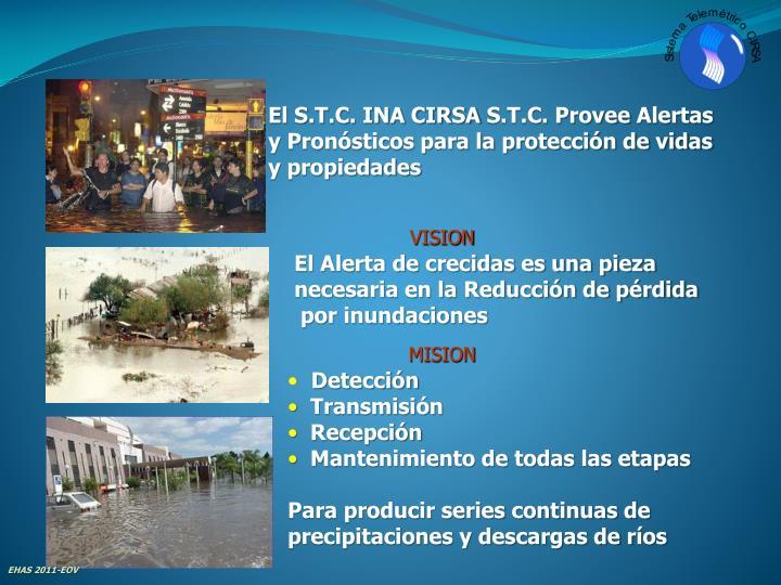 El S.T.C. INA CIRSA