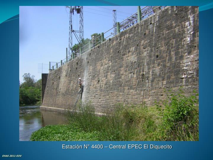 Estación N° 4400 – Central EPEC El Diquecito
