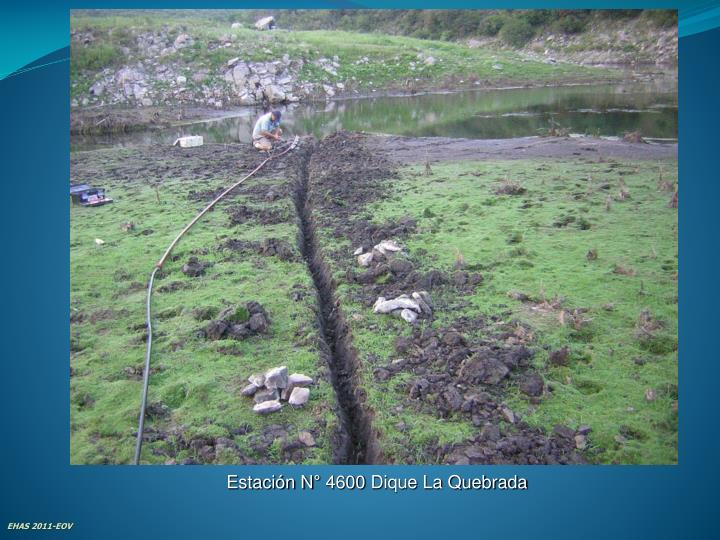 Estación N° 4600 Dique La Quebrada