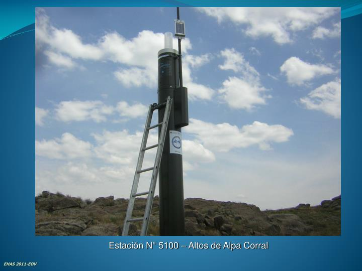 Estación N° 5100 – Altos de