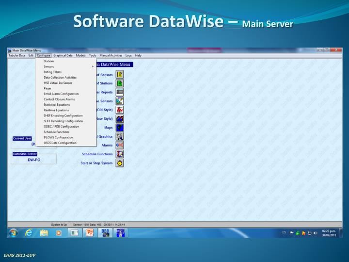 Software DataWise –