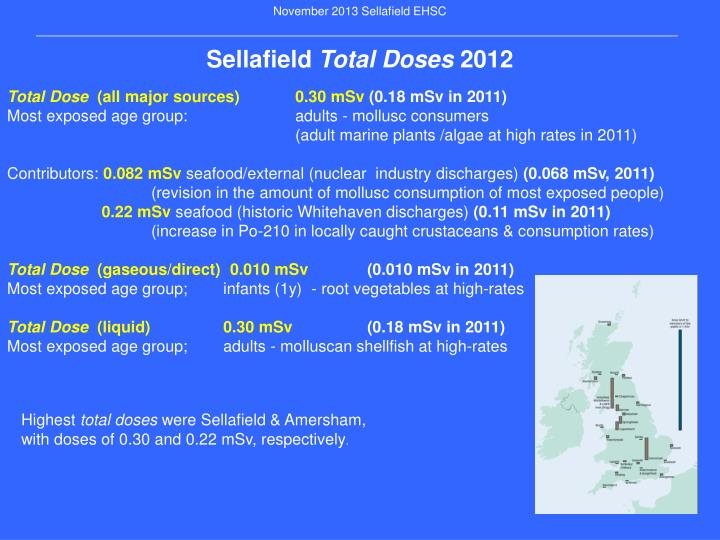 November 2013 Sellafield EHSC