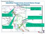 identified target areas around baton rouge 2012 and beyond