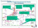 identified target areas around lake charles 2012 and beyond