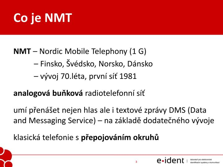Co je NMT
