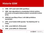 historie gsm1