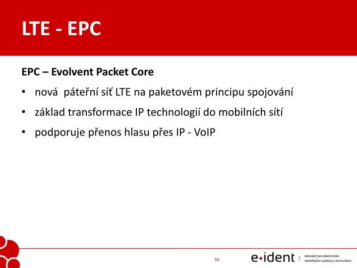 LTE - EPC