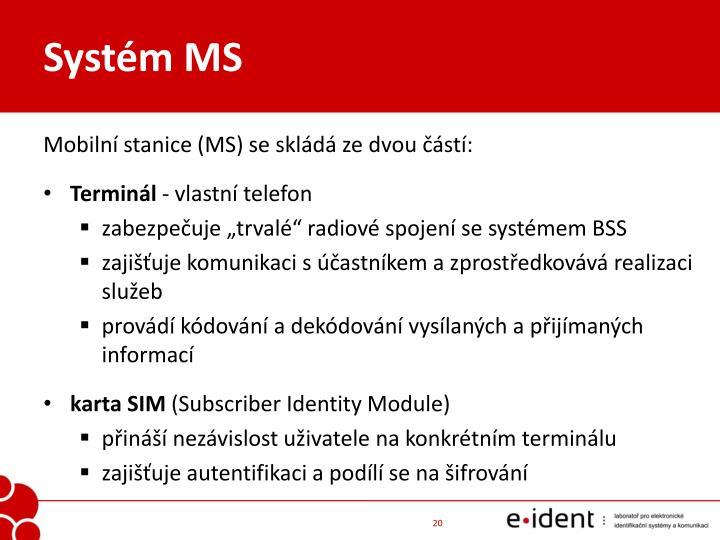 Systém MS