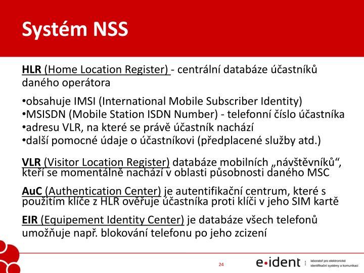 Systém NSS