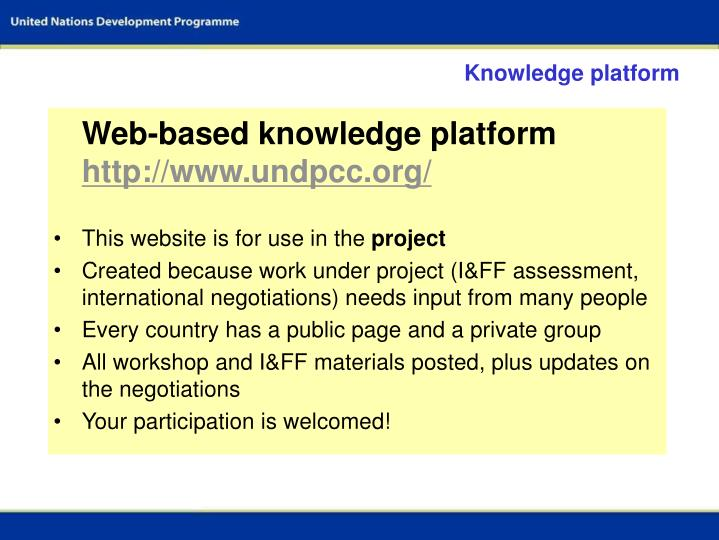 Knowledge platform