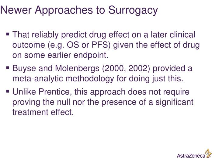 Newer Approaches to Surrogacy