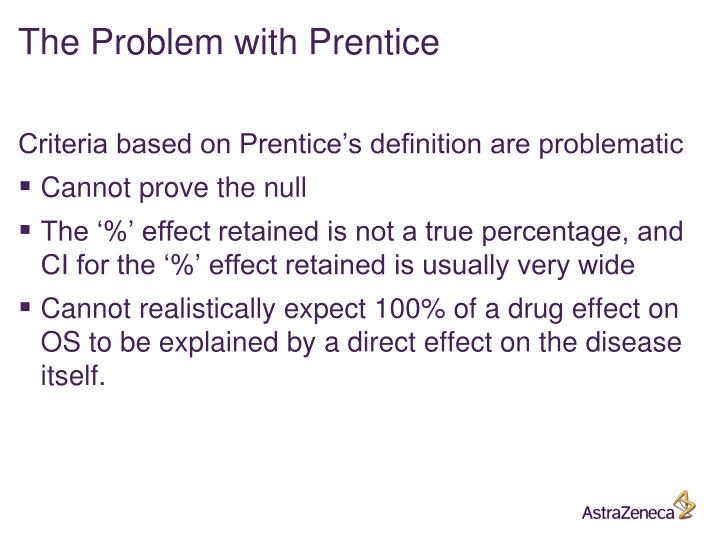 The Problem with Prentice