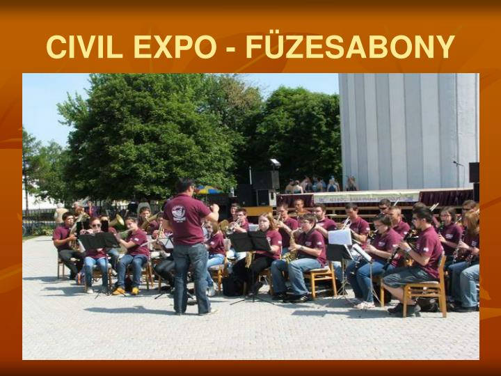 CIVIL EXPO - FÜZESABONY