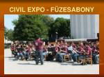 civil expo f zesabony