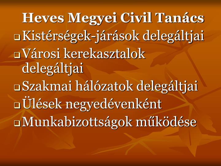 Heves Megyei Civil Tanács