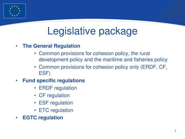 Legislative package