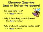 discovery questions read to find out the answers