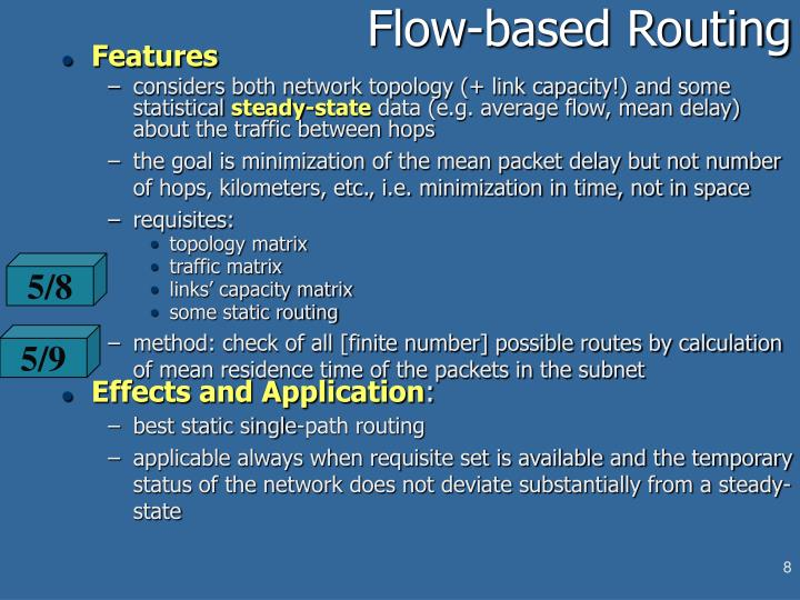 Flow-based Routing