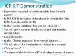 icp kit demonstration