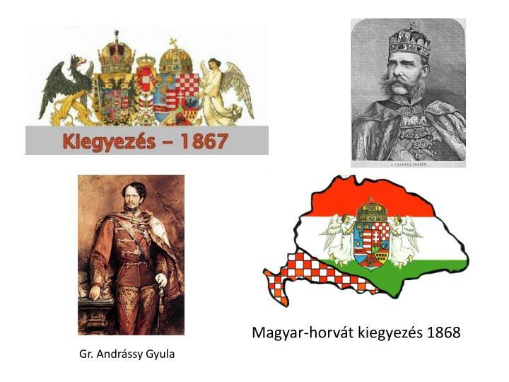Magyar-horvát kiegyezés 1868