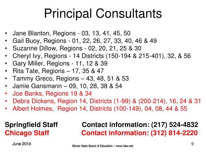 Principal Consultants