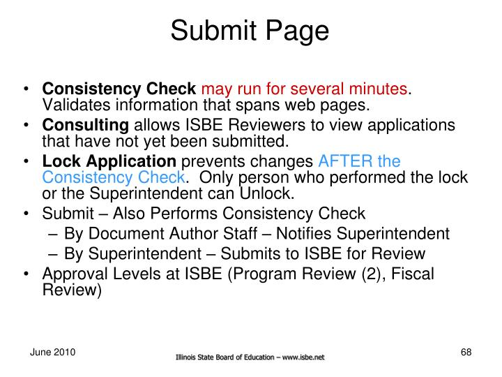 Submit Page