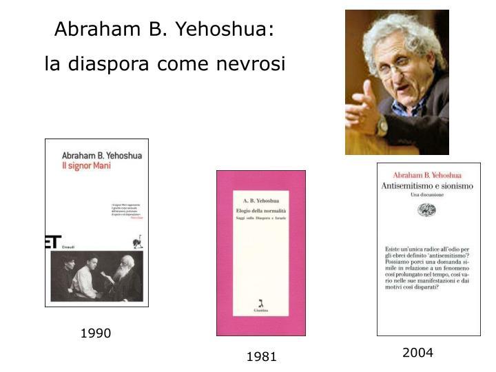 Abraham B. Yehoshua: