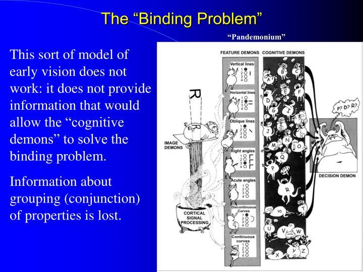 "The ""Binding Problem"""