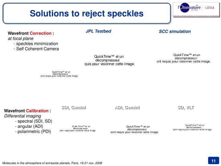 JPL Testbed