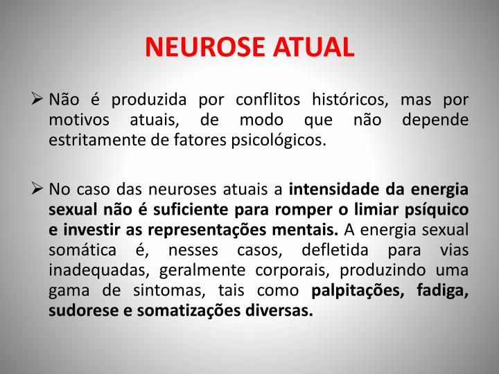 NEUROSE ATUAL