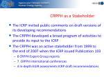 crpph as a stakeholder