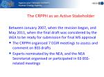 the crpph as an active stakeholder