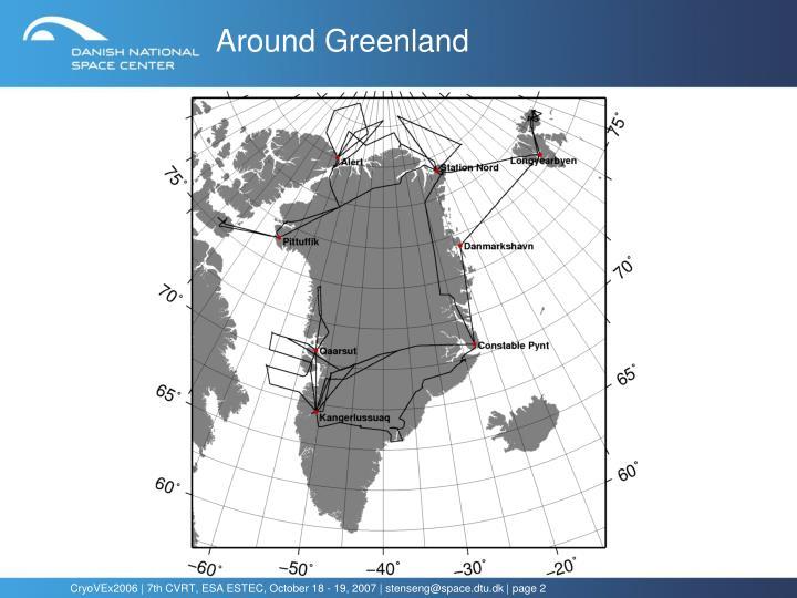 Around Greenland