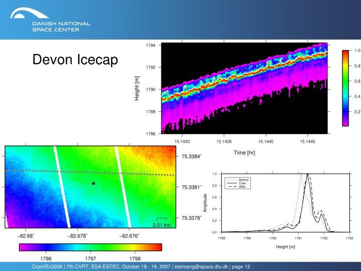 Devon Icecap
