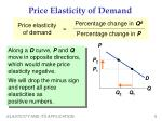 price elasticity of demand2